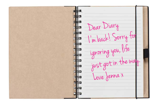 Dear diary writing